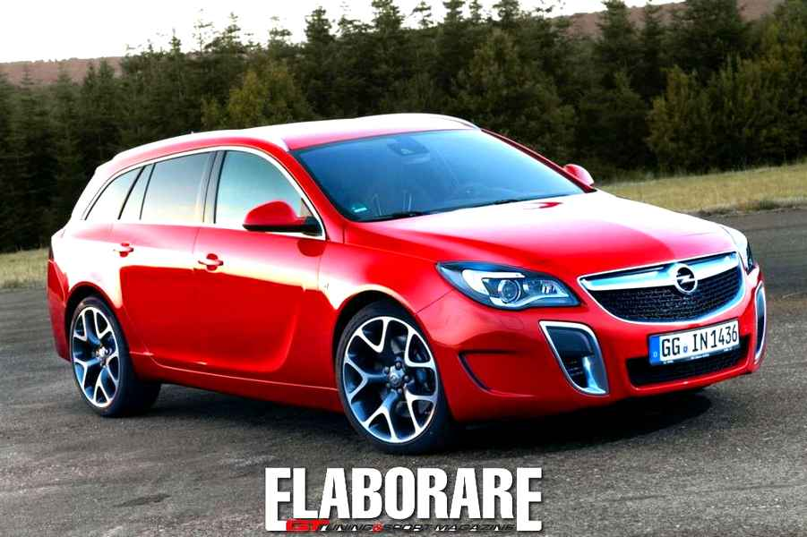 Photo of Opel Insigna OPC al vertice del marchio