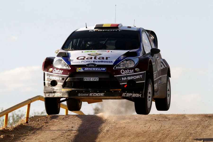 Photo of Traversone rally impressionante con la Fiesta WRC!