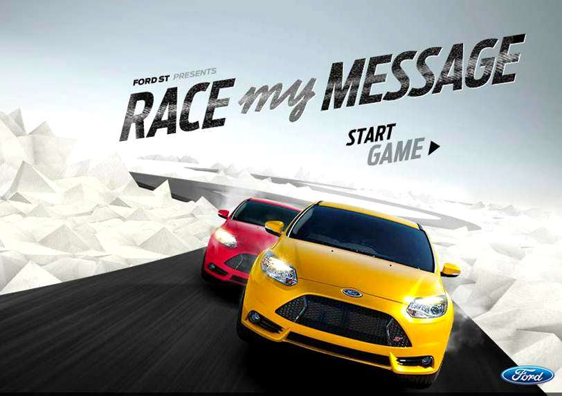 "Photo of Ford lancia il social game ""Race My Message"""