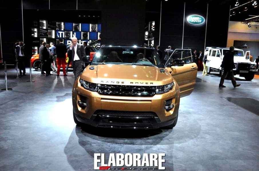 Photo of Range Rover Evoque 2014: aggiornamento estetico all'IAA