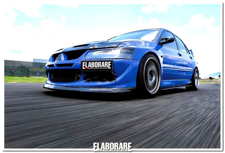 Photo of Mitsubishi Lancer Evo 8 elaborata