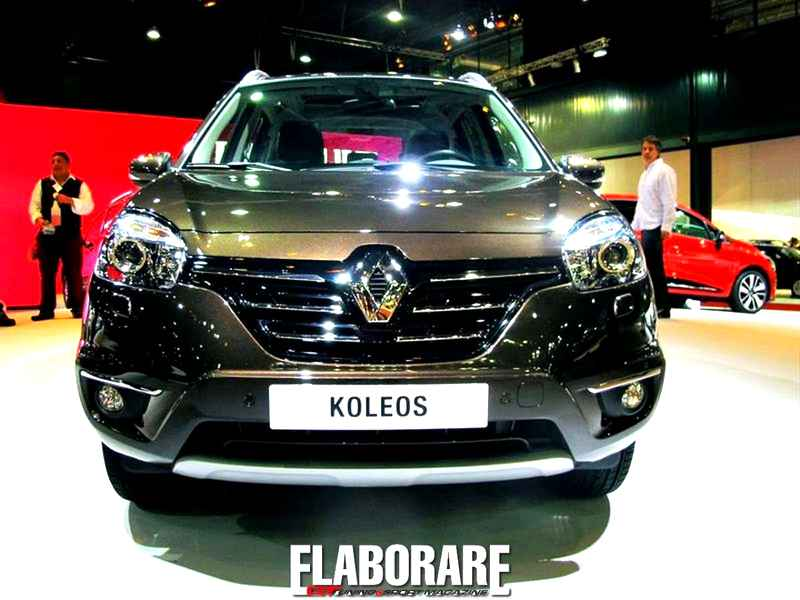 Photo of Koleos Facelift 2013 allo stand Renault dell'IAA