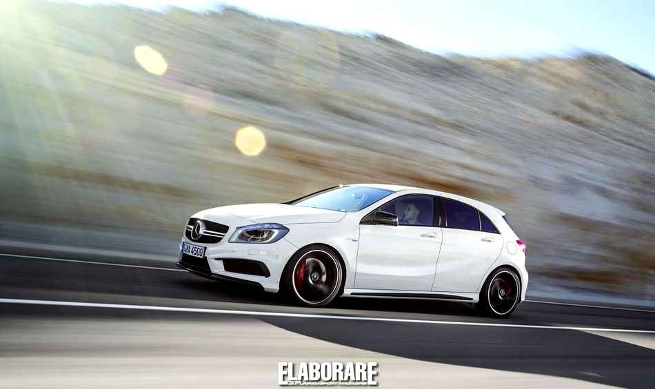 Photo of Sotto esame con la Mercedes A45 AMG domenica 3 novembre alle 16:00 a Roma Talenti