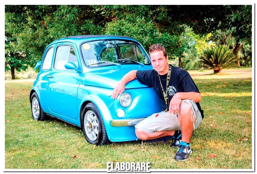 Photo of Fiat 500 elaborata con motore 700 cc