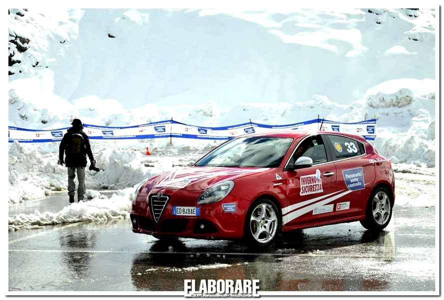 Photo of Inverno in Sicurezza 2013. Test Pneumatici invernali allo Stelvio su neve e ghiaccio.