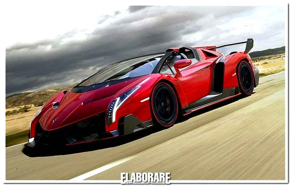 Photo of Veneno Roadster fuoriserie sportiva omologata