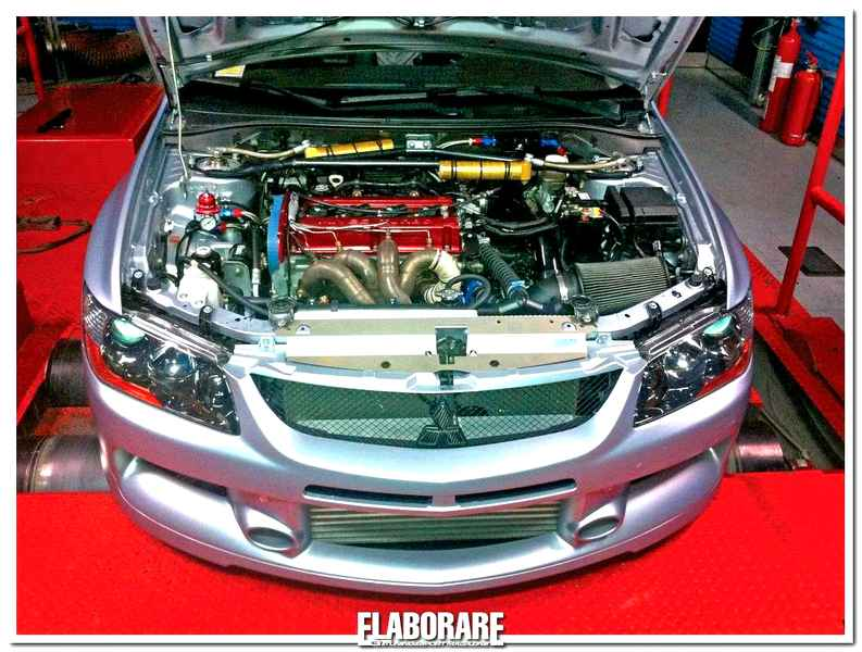 Photo of Mitsubishi Evo IX con 1000 CV!