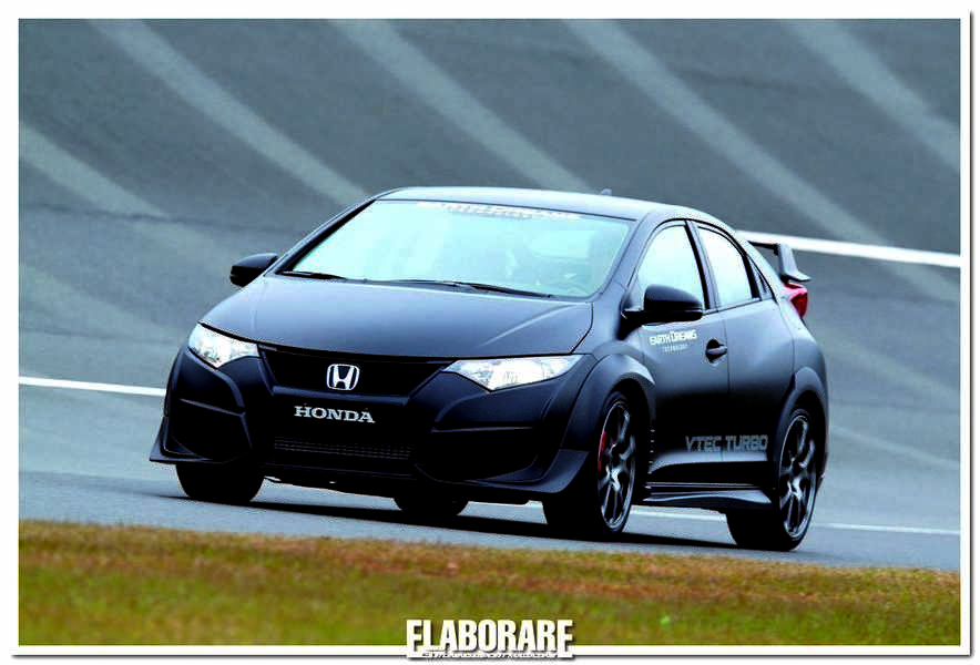 Photo of Test Civic Type R sul circuito di Tochigi