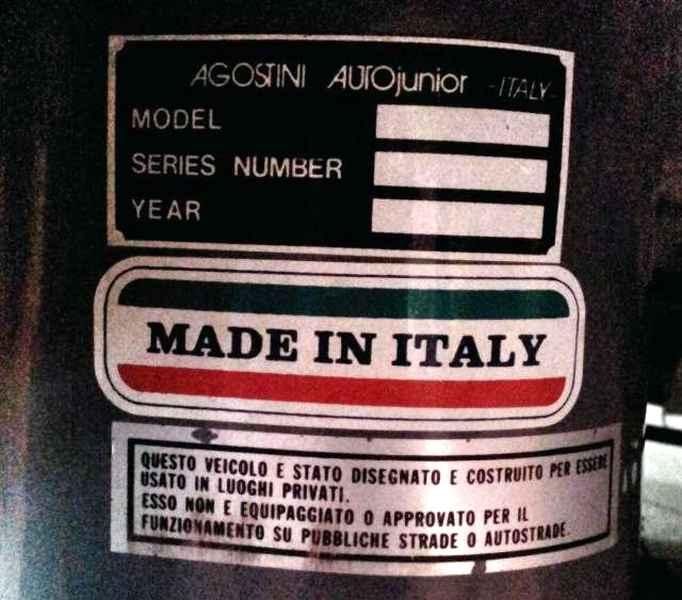 Agostini AutoJunior Ferrari motorizzata(9)