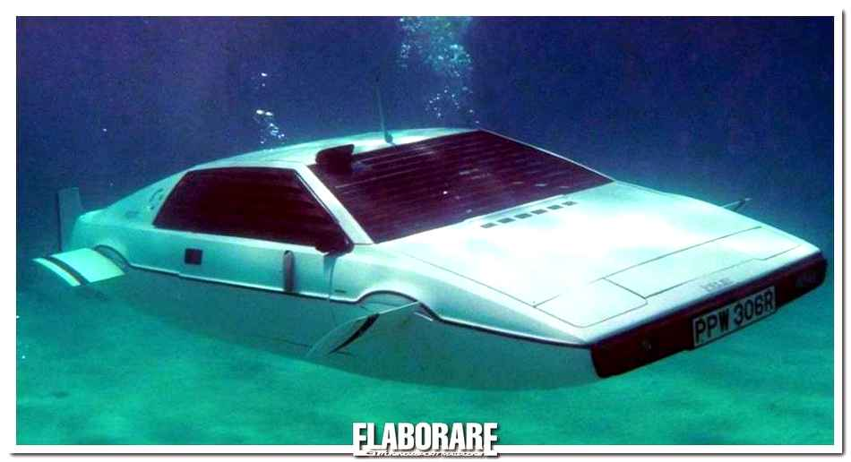 Photo of Lotus di 007 diventa sottomarina!