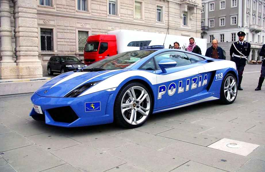 Photo of Lamborghini Gallardo Polizia