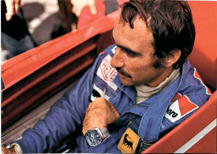 Photo of Clay Regazzoni [5 sett 1939 – 15 dic 2006]