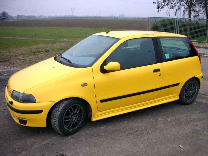 Photo of Fiat Punto GT tuning elaborata