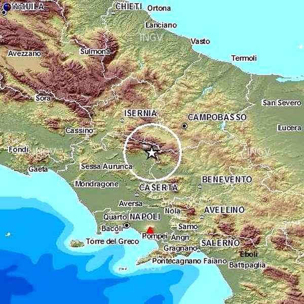 Photo of Terremoto forte scossa in Campania