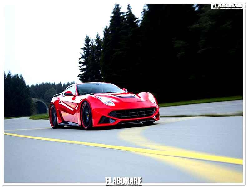 Photo of Ferrari F12 781 CV elaborazione Novitec Rosso
