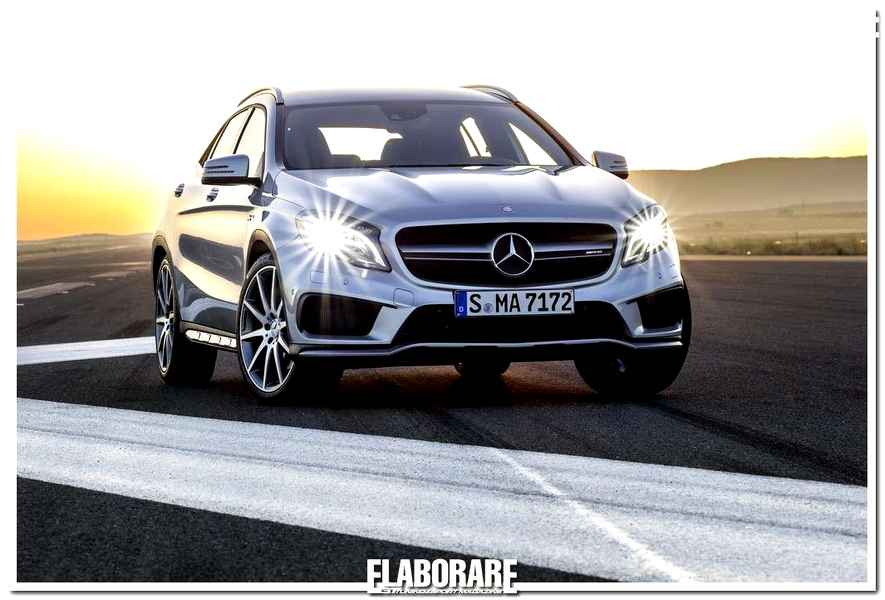 Photo of Mercedes GLA 45 AMG 2014