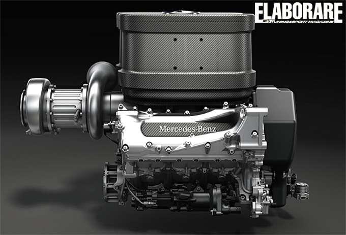 Photo of Sound motore Mercedes F1 turbo 2014 V6 1.600