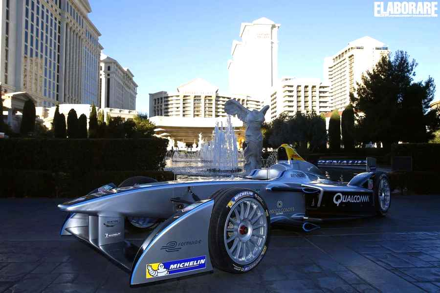 Photo of La Formula E elettrica Spark-Renault SRT_01E