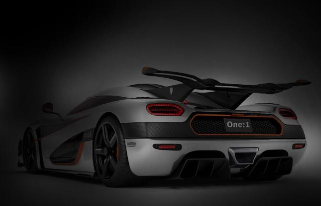 Photo of Koenigsegg One:1 1400 kg 1400 cv