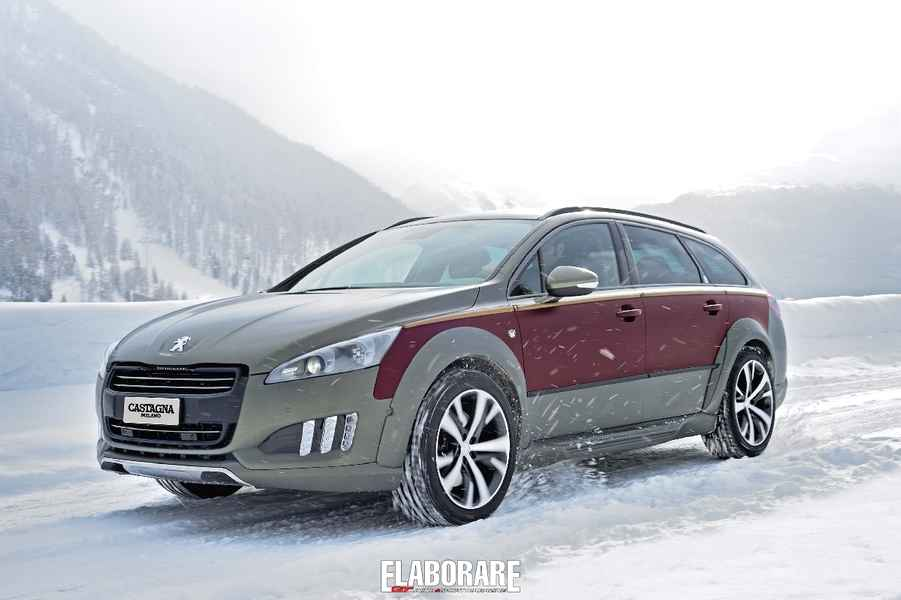 Photo of Peugeot 508 RXH elaborazione Castagna