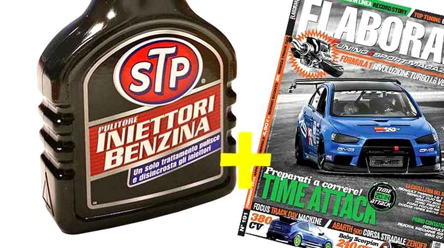 Photo of Pulitore iniettori benzina STP con Elaborare