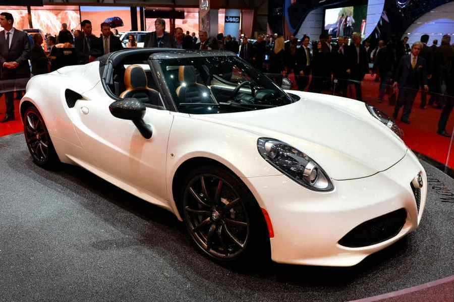 Photo of Salone di Ginevra 2014 ed Alfa Romeo 4C Spider