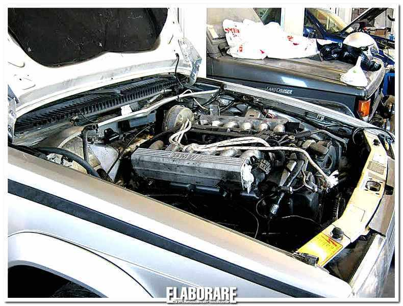 Photo of Alfa Romeo 75 elaborazione con motore V12 BMW