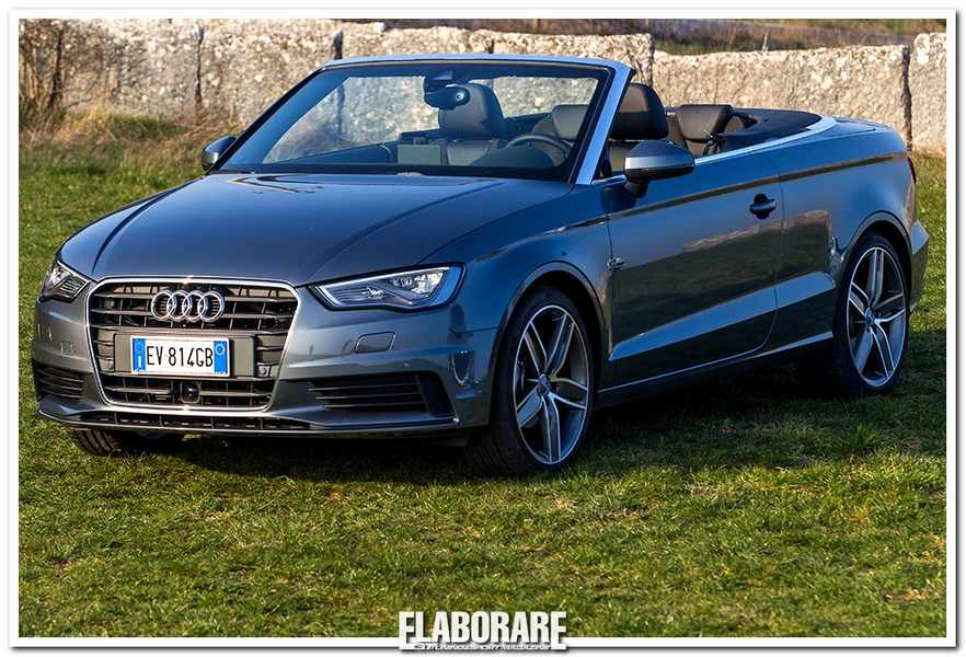 Photo of Primo contatto Audi A3 Cabriolet 2014