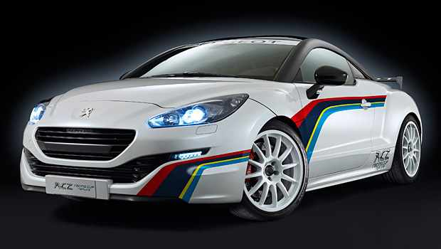 Photo of Peugeot RCZ Cup Replica l'auto da track day
