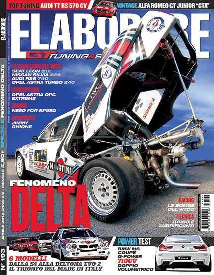Photo of Lancia Delta story su Elaborare 193 Aprile 2014 in edicola