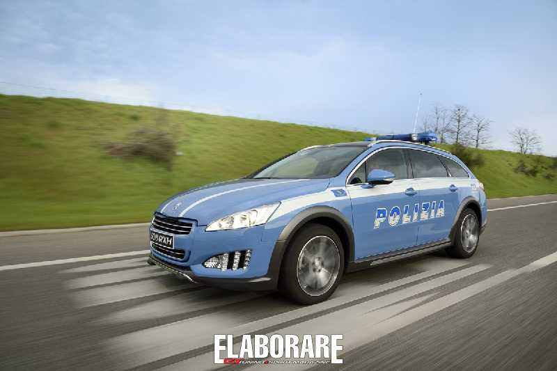 Photo of Peugeot 508 Polizia Stradale
