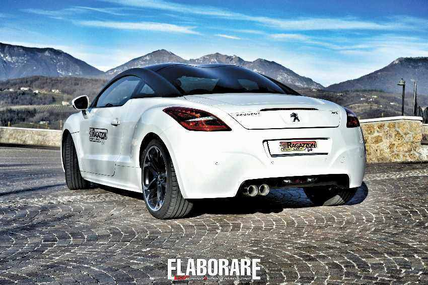 Photo of Peugeot RCZ tuning elaborata scarico sportivo