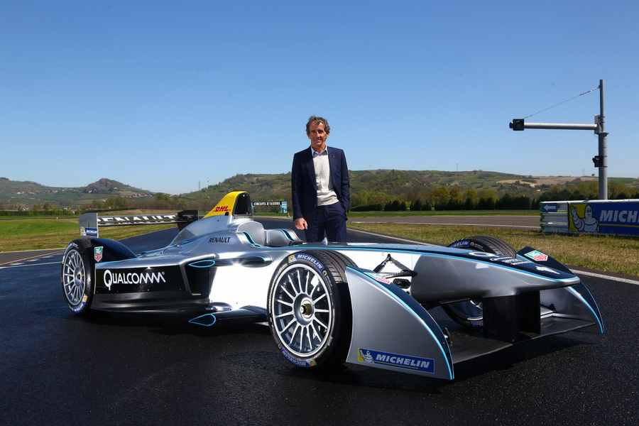 Photo of Spark-Renault elettrica in pista