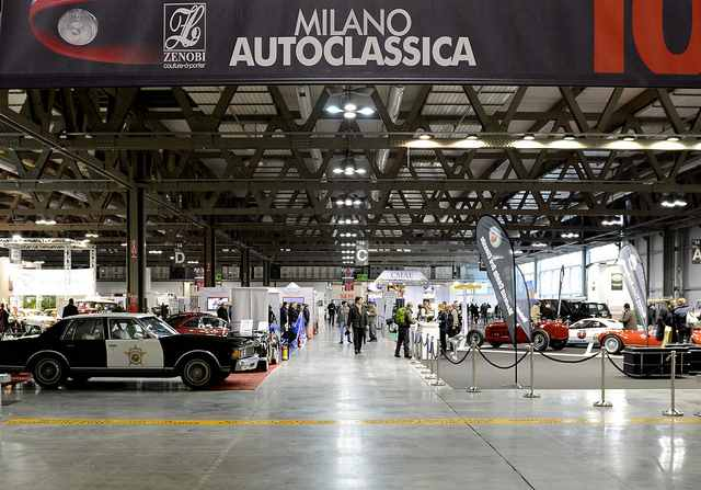 Photo of Milano AutoClassica fascino vintage