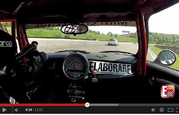 Photo of Mini Cooper S on board Mini Challenge Franciacorta
