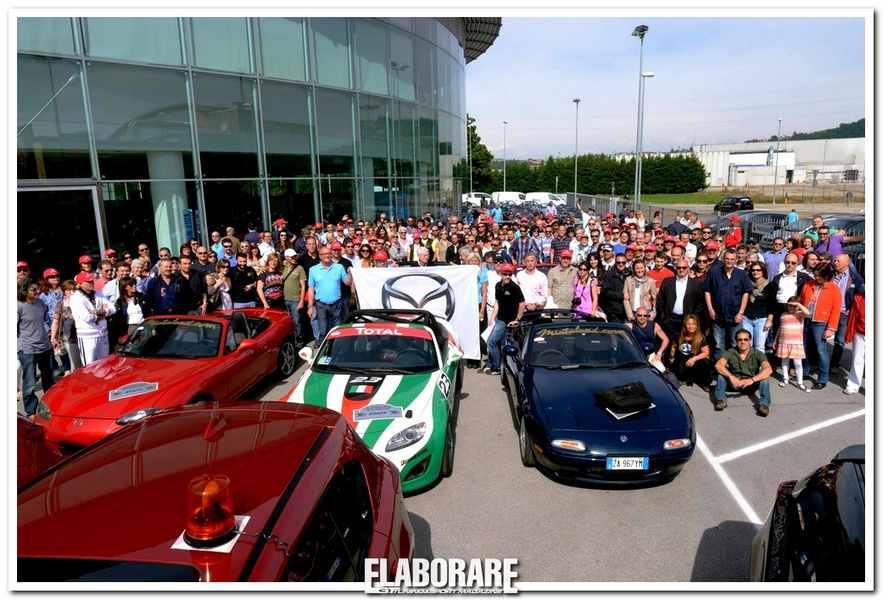 Photo of Mazda MX-5 raduno anniversario 25 anni