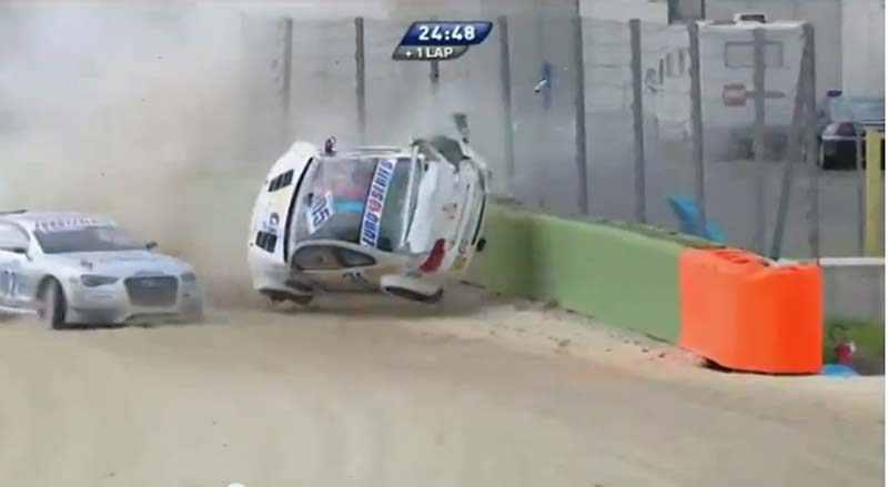 Photo of Crash BMW Vallelunga in gara