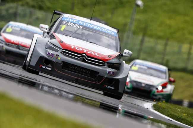 "Photo of Wtcc 2014 in Austria ""solita"" doppietta Citroen"