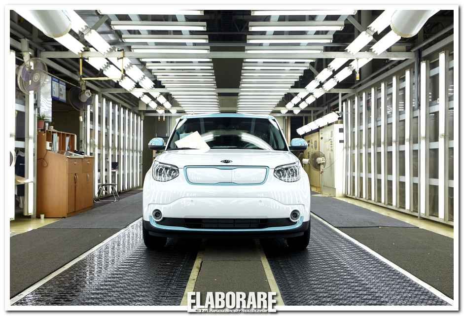 Photo of Kia Soul ECO-ELECTRIC in produzione
