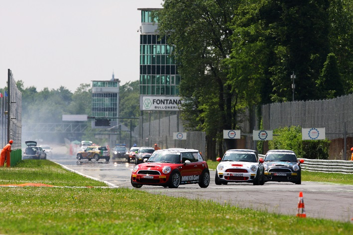 Photo of Mini Challenge 2014 Monza spettacolare incidente