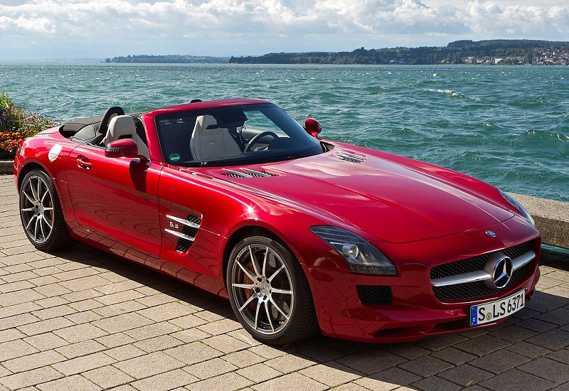 Photo of Scoperta per l'estate SLS AMG Roadster