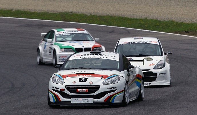 Photo of Peugeot battaglie al Mugello con la RCZ