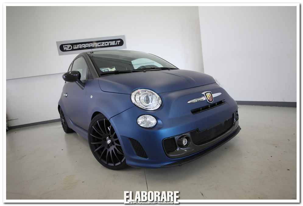 Photo of Wrapping carrozzeria e new look 500 Abarth