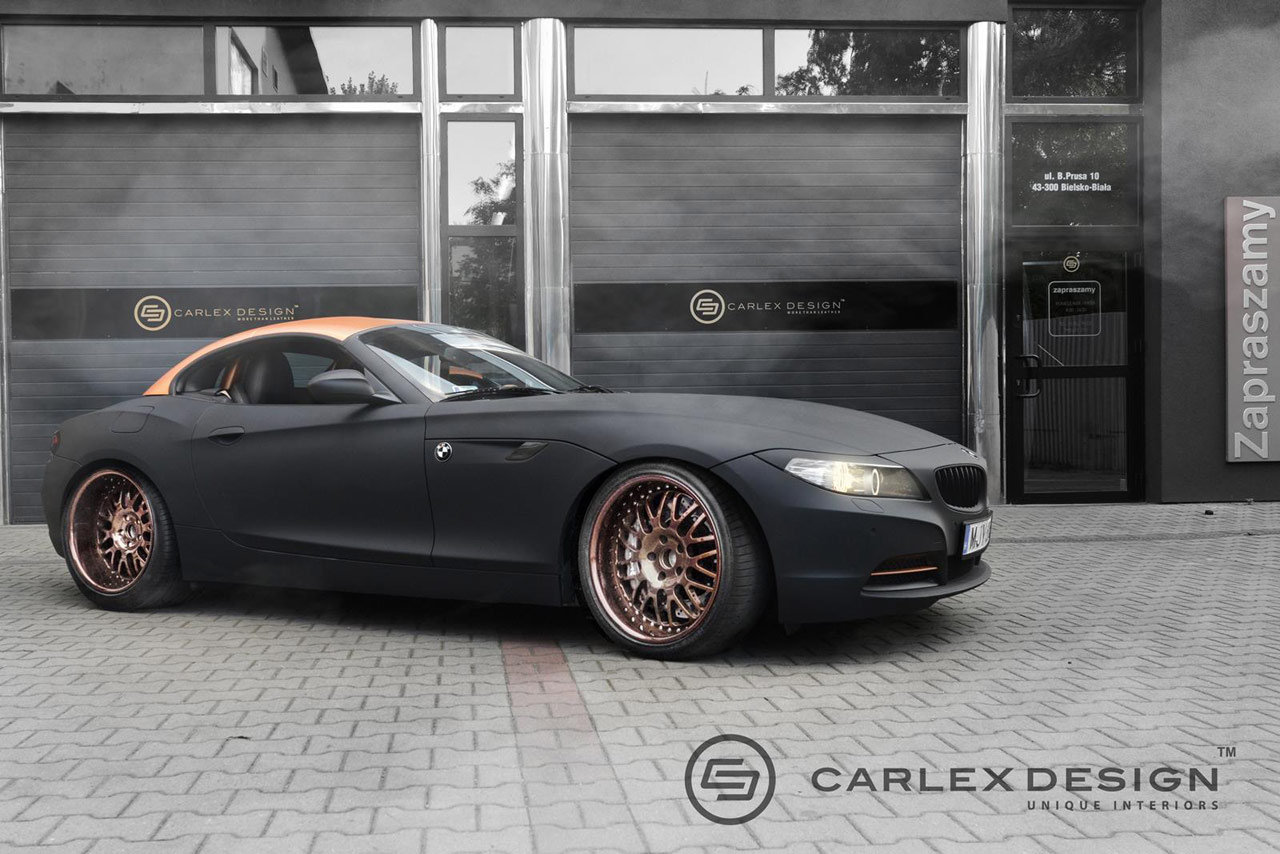 Photo of Interni speciali sulla BMW Z4 by Carlex Design