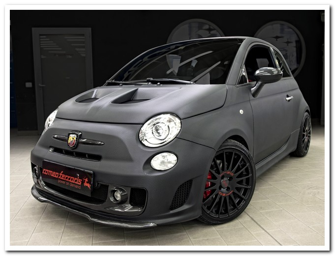 Photo of Accessori in carbonio 500 Abarth