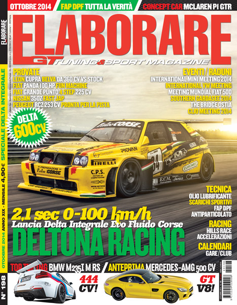 Photo of Cover Story Lancia Delta Integrale Elaborare Ottobre 2014 in edicola