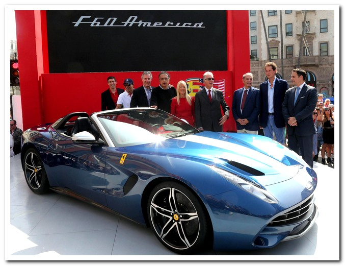 Photo of Ferrari F60 America presentata a Los Angeles