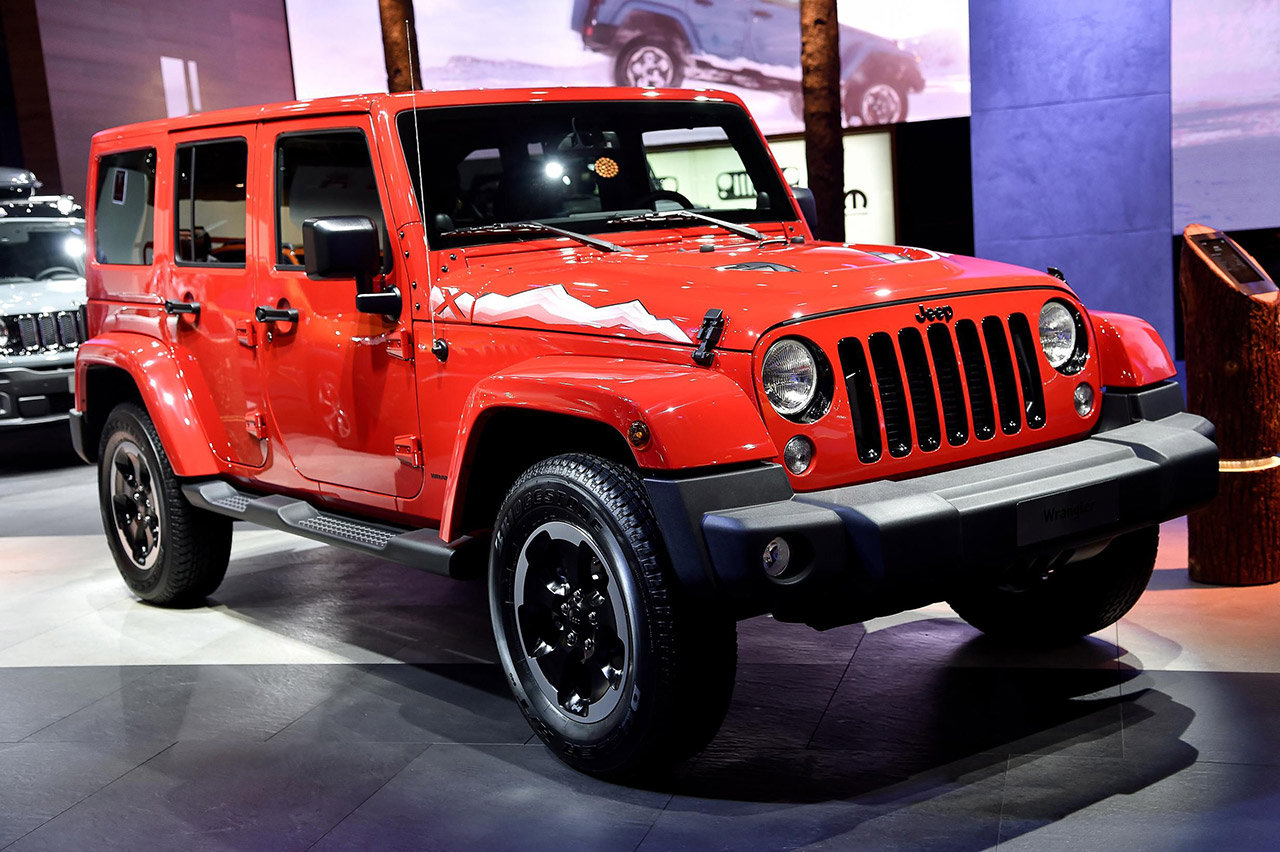 "Photo of Jeep Wrangler in serie speciale ""X"""