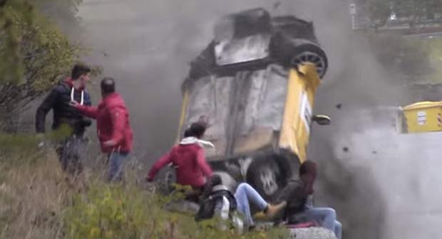 Photo of VIDEO CRASH CLIO RALLY VALLE D'AOSTA