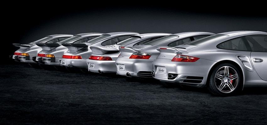 Photo of i 40 anni della 911 Turbo